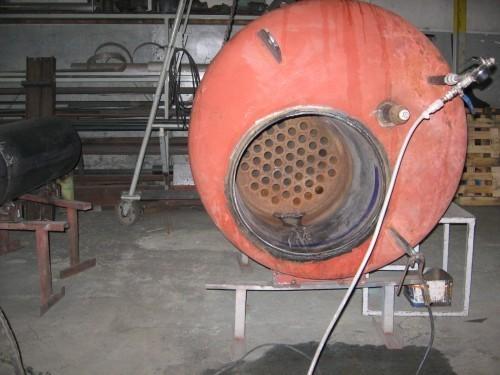 Conserto de caldeiras