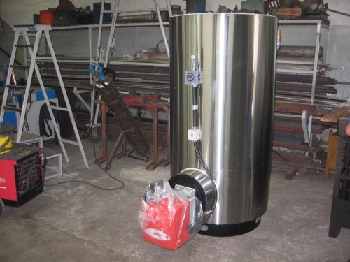 Manutenção de caldeiras industriais