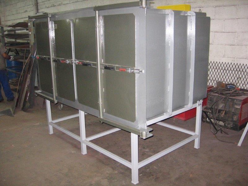 Manutenção de forno elétrico industrial