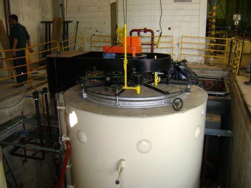Manutenção de fornos de tratamento térmico
