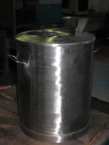 Tanque de aço inox
